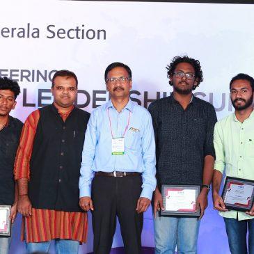IEEE Kerala Section Honours the founding members of keralarescue.in