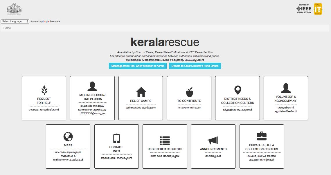 The Story Behind Keralarescue in – IEEE Kerala Section