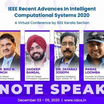 IEEE RAICS 2020