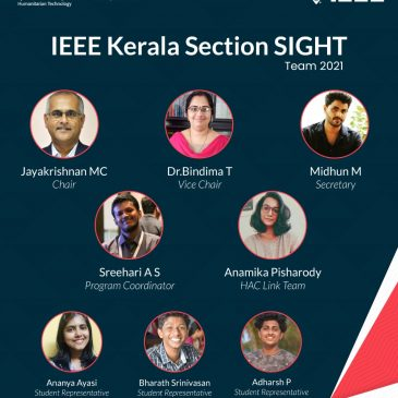 IEEE Kerala Section SIGHT Team 2021