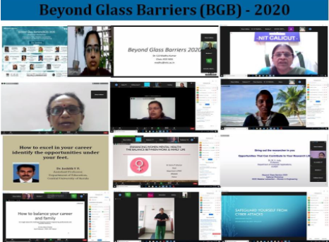 "National WIE  Workshop – ""Beyond Glass Barriers 2020"""